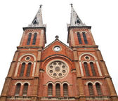 Notre Dame Cathedral in Ho Chi Minh City Vietnam — Stock Photo