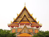 Wat Kalayanamitr is a Buddhist temple in Bangkok — Stock Photo
