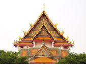 Wat Kalayanamitr is a Buddhist temple in Bangkok — Stock Photo