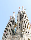 Sagrada Familia cathedral in Barcelona, Spain — Stock Photo