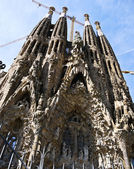 La Sagrada Familia cathedral in Barcelona, Spain — Stock Photo