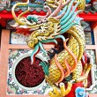 Stock Photo: Dragon Statue at Chinese temple