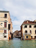 A Bridge of Grand Canal in Venice, Italy — Stock Photo