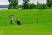 Golf field — Stock Photo