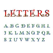 Letters — Stock Vector