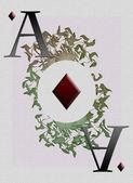 Ace tamboerijn — Stockfoto