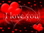 Rött hjärta — Stockfoto