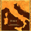 Stock Photo: Italy map