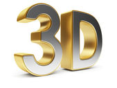 3D text. Entertainment cinema. Isolated. Illustration — Stock Photo