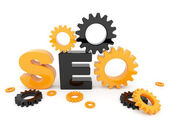 SEO optimization. 3D illustration. Isolated — Stock Photo