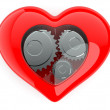 Royalty-Free Stock Photo: Heart mechanism