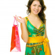 Shoping girl — Stock Photo