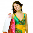 Girl with bag — Stock Photo #6108857