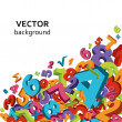 Mathematical background - Stock vektor