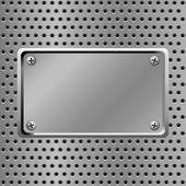 Steel background — Stock Vector