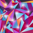 Multicolor triangle texture - 