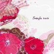Royalty-Free Stock Imagem Vetorial: Watercolor floral background