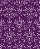 Purple damask — Stock Vector
