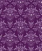 Purple damask — Stock Vector