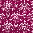 Royalty-Free Stock Obraz wektorowy: Dark red damsak texture