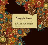 Elegance floral background — Stock Vector