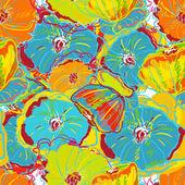 Bright flowers — Stock Vector