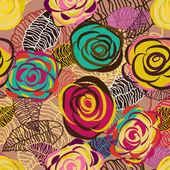 Floral abstrakt — Stockvektor
