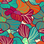 Abstract floral background — Stockvektor