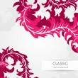 Pink classical background — Stock Vector