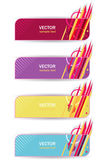 Abstract banners — Stock Vector