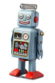 Happy robot — Stock Photo