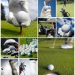 Golf concept — Stock fotografie