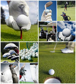 Concetto di golf — Foto Stock