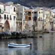 Cefalu city, Sicily - Stock Photo