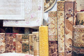 Samples of carpet coverings — Stock Photo