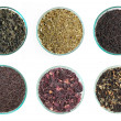 Various kinds of tea - Stock Photo