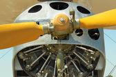 The plane engine — Stock Photo