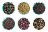 Various kinds of tea — Foto de Stock