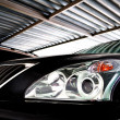 Lexus headlight - Foto Stock