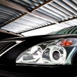 Lexus headlight - Stock Photo