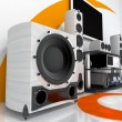 Hi-end audio system — Stock Photo #5626735