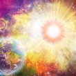 Solar explosion illustration — Stock Photo