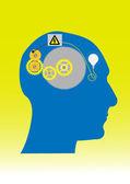 Brain ideas — Stock Photo