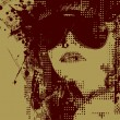 Women in sunglasses - Image vectorielle