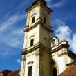 Franciscan  church from Cluj Napoca city. — Foto de Stock