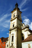 Franciscan church from Cluj Napoca city. — Stock Photo