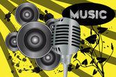 Music background — Cтоковый вектор
