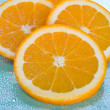 Orange Slices - Stock Photo