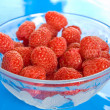 Ripe raspberries - Stock Photo