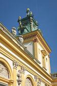 Torre della residenza reale di wilanow — Foto Stock
